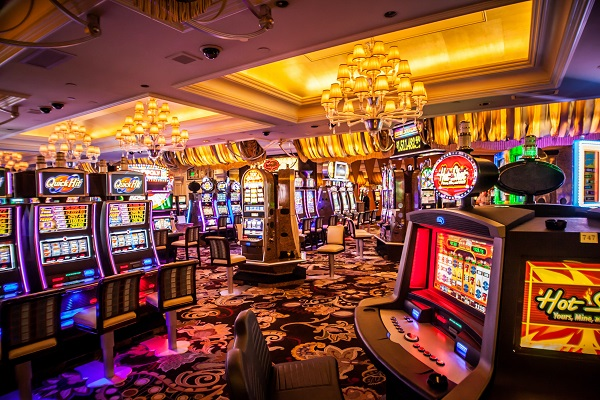 playing the slots